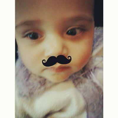 Luna~ *3* Luna Cute Baby Aegyo mostacho (? love