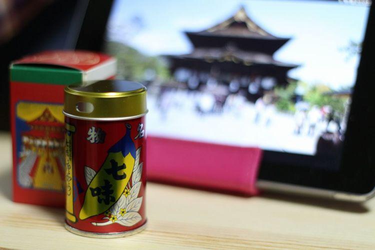 コレってみなさん知ってるモノなの? Famous spices in NAGANO My Spices Spices Hot Spices 善光寺 (zenko-ji Temple)