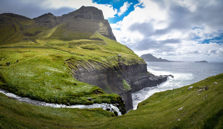 Nature Puffin Faroe Islands Landscape Landscape_photography Rainbow Water Wonderland