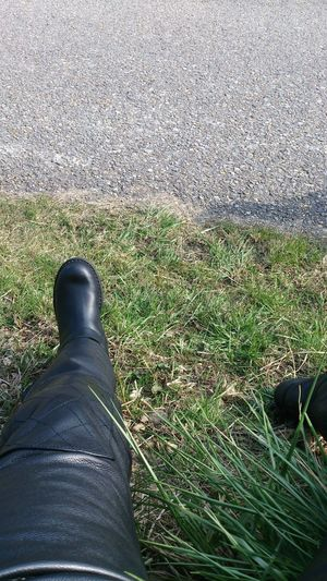 März2015 Biker Daytona Boots Relax Pause