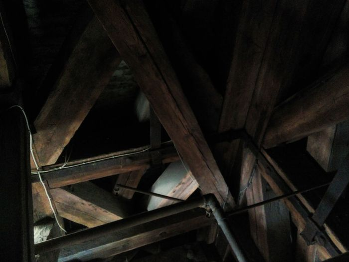 Wood Church Ceiling