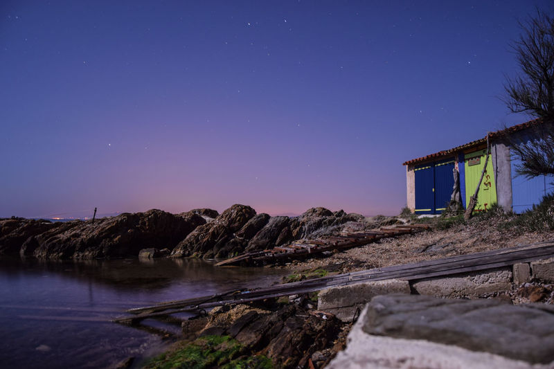 Cabanon Colors Long Exposure Night Photography Nightphotography Sea Sea Life Sea Side Nightshot Seascape