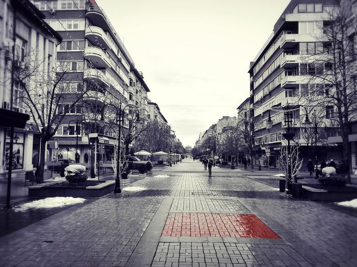 Chasing colors City Outdoors Architecture Sofia, Bulgaria Scenery Shots Overcast Morning Moody Sky First Eyeem Photo