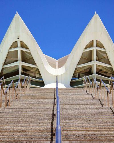 Stairways València España Ciudad De Las Artes Y Las Ciencias Architecture