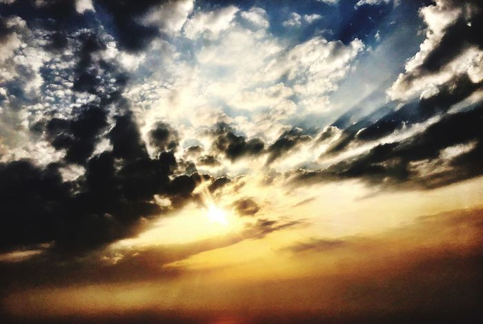 Cloud - Sky Sky Beauty In Nature Sunset Scenics - Nature Tranquility Tranquil Scene