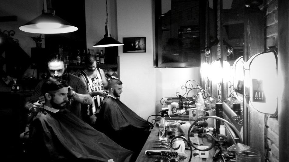 Barbershopconnection Crew Barbershop Camoralife Camora Haircut Hairdresser Happiness Traveller Barber Life Barber Pole