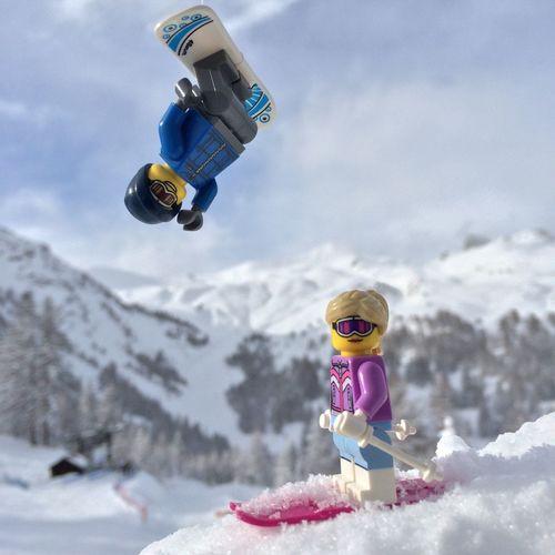 Snow Serre Chevalier  Montagne Skiing Chasingsnow On A Health Kick LEGO Toysphotography Deepfreeze