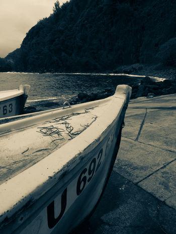 Anse Des Cascades Boat Ile De La Reunion, Une Beauté, Un Paradis, Mon Ile <3 No People Outdoors Vintage Vintage Photo Water Île De La Réunion  Travel