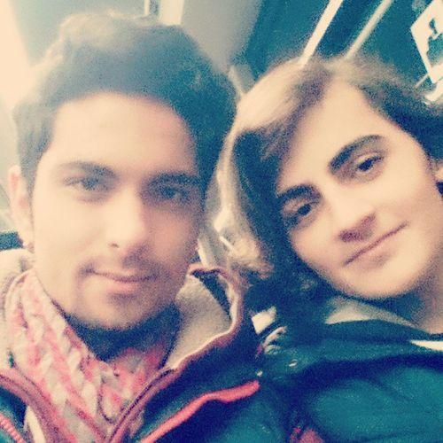 Ozzi And Me Bro happy
