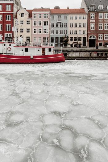 An urban winter in Copenhagen. Winter Denmark Scandinavia Ice Snow First Eyeem Photo Frozen Sea Sea No Swimming Sunset Copenhagen City Urban Ice Pattern Cold Nordic Boat Abstract Artistic Windmill Renewable Energy Green Energy Environment