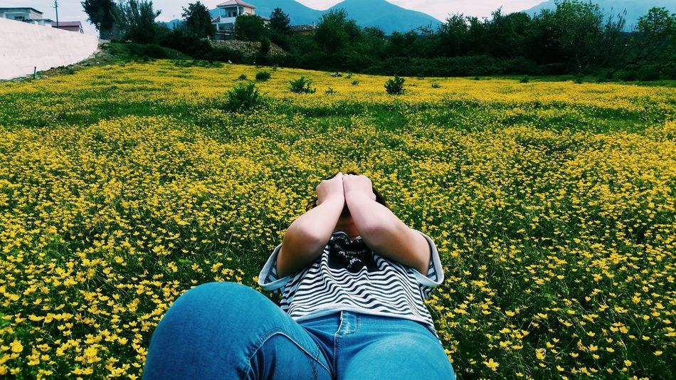 One Person Flower Blooming Outdoors Yellow Flower Flower Albania Flowers 🌸🌸🌸 Flowers Outdoor Day Nature Inspire Flowers, Nature And Beauty EyeEmNewHere EyeEm Diversity Art Is Everywhere Your Ticket To Europe