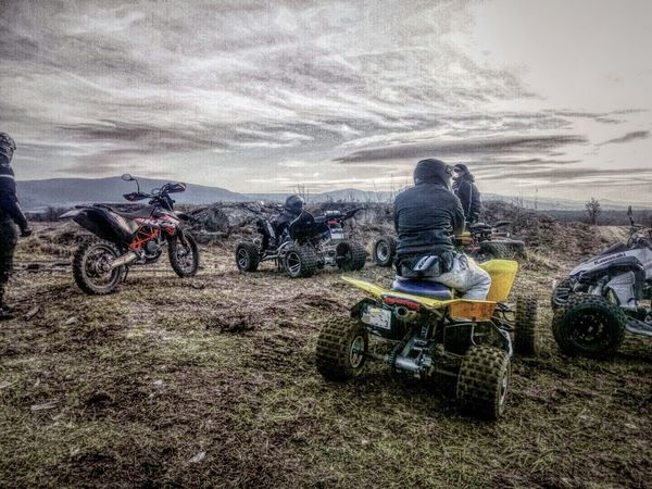 Relaxing Nature Hobby Quad Cross Yamaha Ktm Suzuki Kawasaki Atv Raptor700 Ltr 450 Kfx450 Weather Pro: Your Perfect Weather Shot  Mountains Enjoying Life Offroad