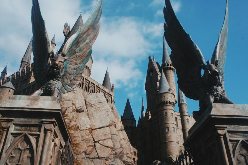 History Ancient Architecture Religion Travel Destinations Tradition Sky Travel Built Structure Outdoors Day No People Building Exterior Nature Ancient Civilization City Universal Studios Japan Harry Potter Japan Japanese