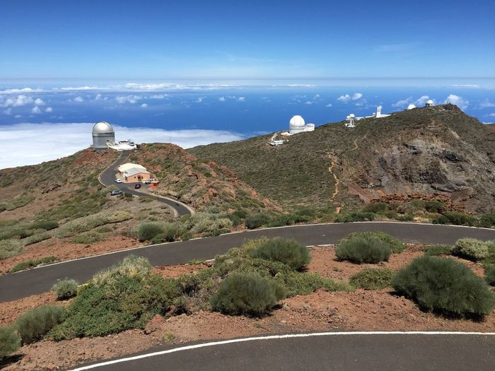 Über den Wolken Canary Islands La Palma Observatory Landscape Sky Water Scenics - Nature Beauty In Nature Nature Sea Land Tranquil Scene Mountain Cloud - Sky Outdoors