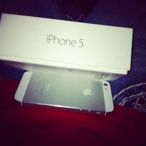Playing With My IPhone 5