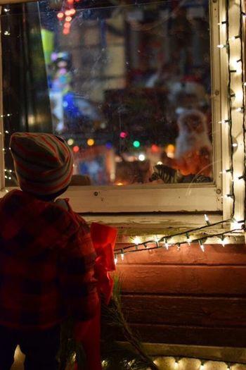 Innocence Christmastime Santa Cliffton Holiday POV Moments Window View