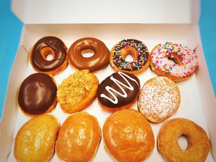 Donuts, a sweet