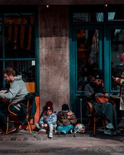 hypekids of Copenhagen Kids Hypekids Hype Kids Hypebeast  Carhartt Children Portrait Photography Adidas Sitting Chair Curtain Full Length Armchair Window Urban Scene