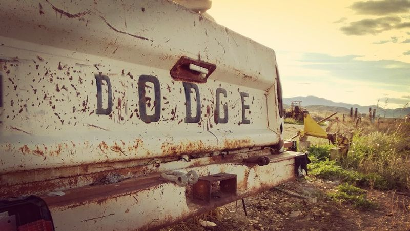 Abandoned Outdoors Day Sky Close-up Duncan, Arizona, United States Antique Truck Rust Fotgotten Farm Truck American Masters American Made