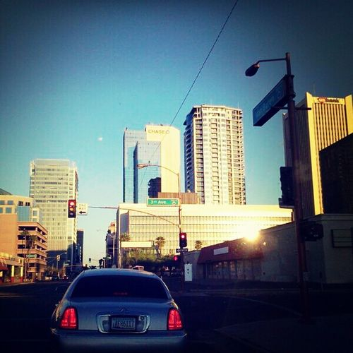 Phoenix Metropolitan Area On The Road