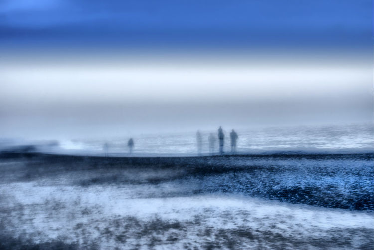 Coast in Vorupoer Denmark Atmospheric Mood Beauty In Nature Cloud Cloud - Sky Cloudy Cold Dusk Horizon Over Water Outdoors Power In Nature Scenics Sea Selective Focus Silhouette Sky Sunset Tranquil Scene Tranquility Water Weather