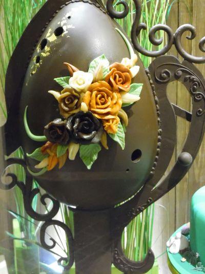 Chocolate Art Easteregg Chocoholic