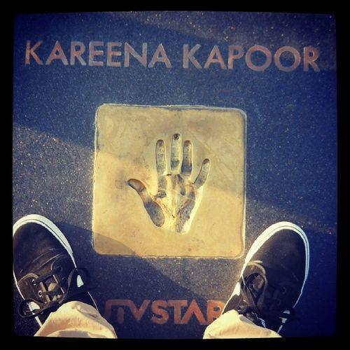 Kareenakapoor Handprint Palm Fun
