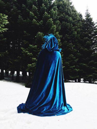 Blue People Vintage Lifestyles Photo Bursa Green Snow Uludag Blue The Fashion Photographer - 2018 EyeEm Awards