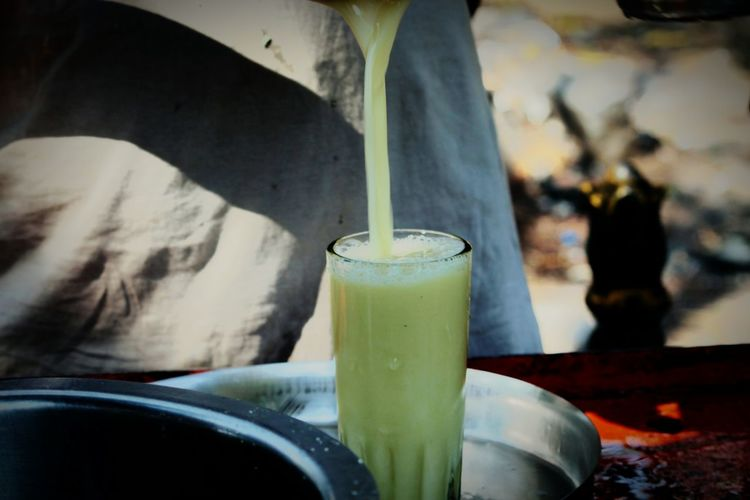 EyeEmNewHere Glass Sugarcanejuice Tasty😋 India Handmade Sugarcane