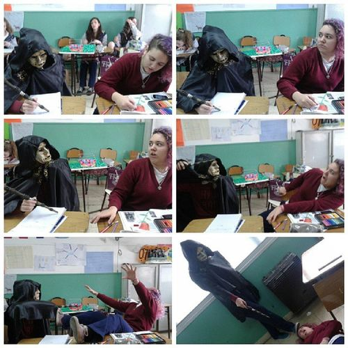 Asesinando muggles en clase Mortifago Harry Potter