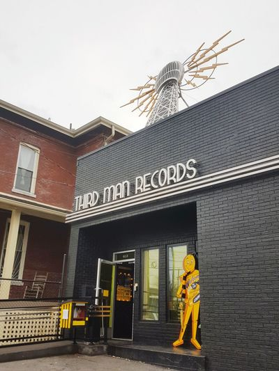 Entrance Architecture Outdoors Arrival No People Sky Day JackWhite Thirdmanrecords