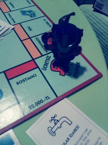 Playing Games Monopoly Enjoying Life