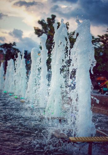 The Fountain Water