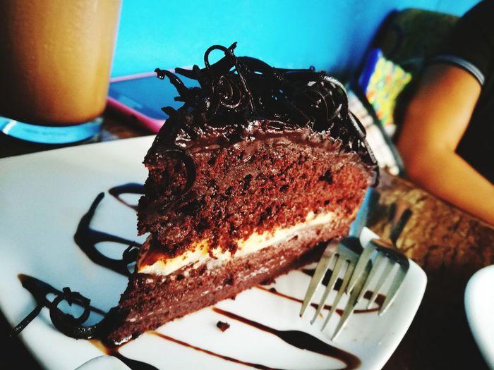 Dessert Chocolate Cake Sweet Food