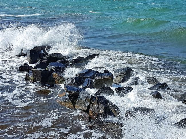 Backgrounds Water Waves Eye4photography  Nature Photography Landscape_photography Landscape Photography No People Scenics Sea Baltic Sea Balticsea Outdoors