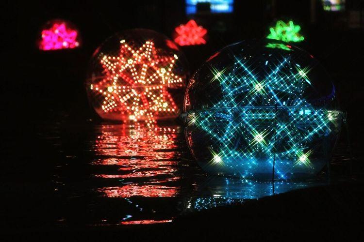 LaQua 東京ドーム 東京 日本 Illuminated Night Celebration No People Close-up Outdoors