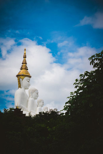 Buddha Buddhism Cloud - Sky Day Nature No People Olympus Olympus OM-D EM-1 Outdoors Sky Thailand Thailand_allshots Tree