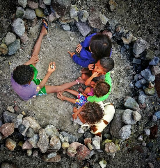 The Aeta children of Mt. Pinatubo. Playing on their mini playground and enjoying simple life. Careless and vulnerable yet they are stronger than most us. Eyeem Philippines Peace Peace And Happiness Simple Moment What The World Needs Now... What The World Needs To Know Children Photography Children Philippines Happiness Simple Life Mt. Pinatubo Aeta The Photojournalist - 2017 EyeEm Awards The Photojournalist - 2017 EyeEm Awards