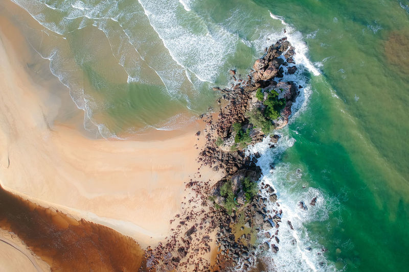 DCIM/100MEDIA/DJI_1310.JPG Water Sea Beauty In Nature No People Rock Motion Scenics - Nature Nature High Angle View Solid Rock - Object Beach Day Land Tranquil Scene Tranquility Outdoors Rock Formation Physical Geography Power In Nature