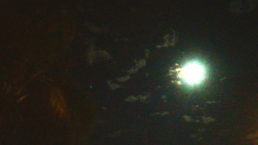 blue Illuminated Night Astronomy