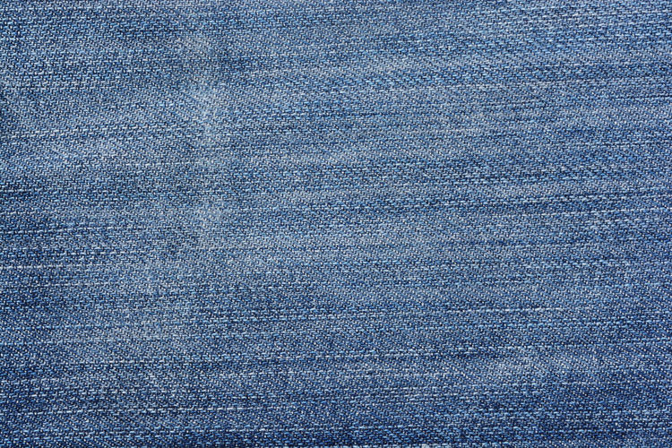Macro shot of blue wall