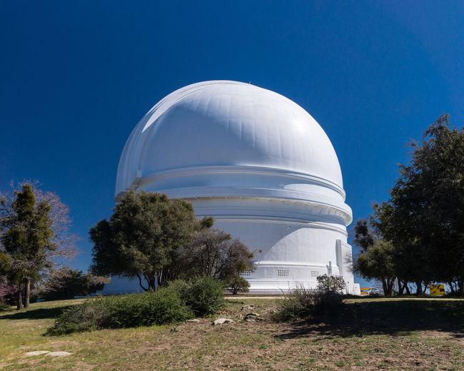 Dome Architecture No People Outdoors Telescope Trees Landscape Blue Sky Forest Trees Scenics Mountain Trees And Sky Landscape Photography Beauty In Nature Nature Day Sky Blue Clear Sky Mountain Top Sunlight