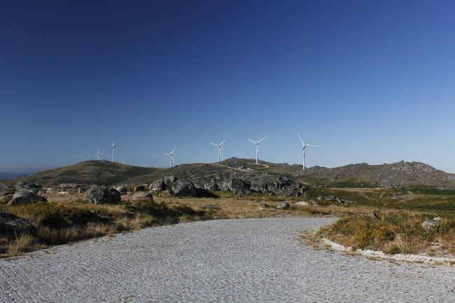Enercon Energy Landscape Portugal Turbine Windpark Windturbine Windturbines