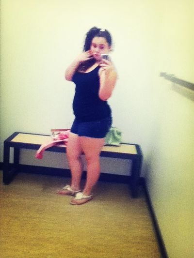 at the mall bout a week ago