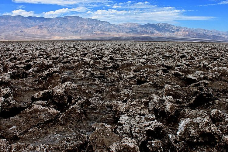 Deserts Around The World Death Valley Devils Golf Course Desert Desert Beauty Beautiful Place Beautiful Nature Tranquil Scene Nationalpark Landscape The KIOMI Collection