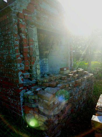 No People Day Outdoors Nature Sun Sunset Textured  Brick Bricks Brickwork  Chimney Chimney Stack Chimney Bricks