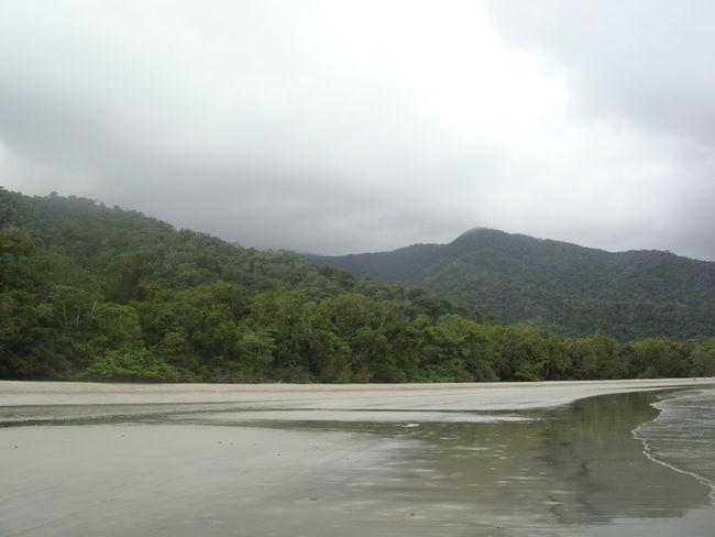 Australia Cairns, North Queensland, Australia Clouds Landscape Nature Rainforest Rainy Day Seashore