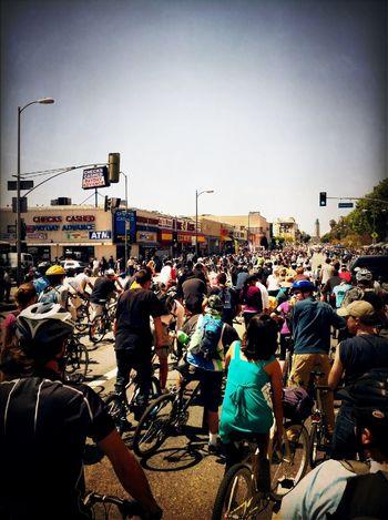 Cycling CicLAVia