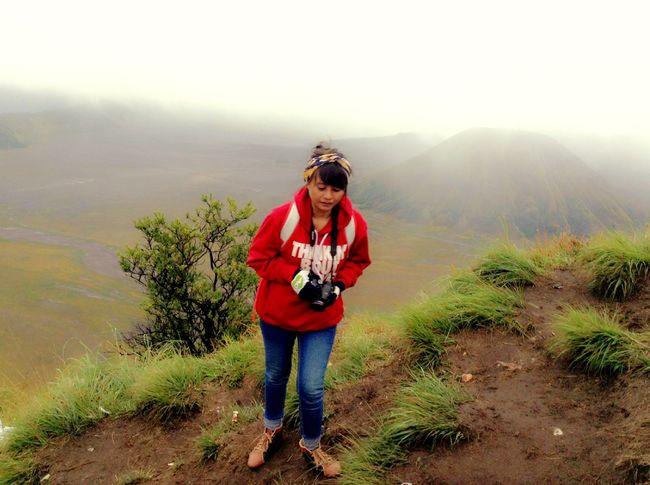 The Tourist Bromo Mountain Indonesia Probolinggo Jawatimur