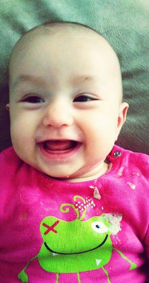 Mutlulukk happy baby 😂😂😂😂😂 First Eyeem Photo